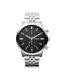Fossil Townsman Chronograph Silver Stainless Steel Men's Watch