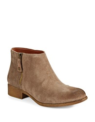 Enzo Angiolini Nevadia Ankle Boots Beige