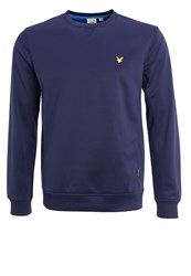 Lyle And Scott Thompson Sweatshirt Navy Dark Blue