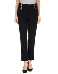 Anthony Vaccarello Casual Pants Black