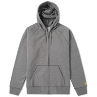 Carhartt Hooded Chase Jacket Grey