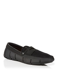 Swims Penny Loafers Black