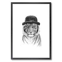 Monde Mosaic Welcome To The Jungle Print 20X28