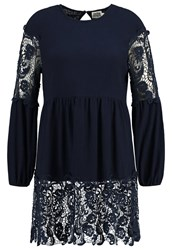 Twist And Tango Celina Tunic Navy Dark Blue