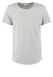 Lee Basic Tshirt Grey Mele Light Grey