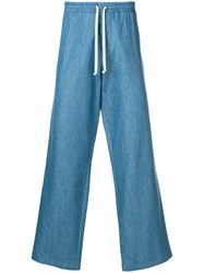 Societe Anonyme Hackney Loose Trousers Blue