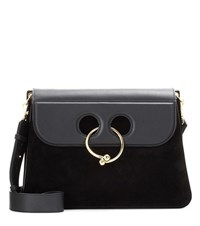 J.W.Anderson Large Pierce Leather Shoulder Bag Black