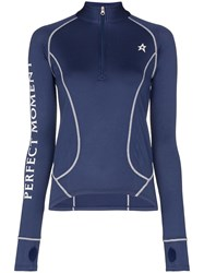 Perfect Moment Half Zip Logo Thermal Top 60