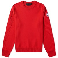 Canada Goose Paterson Crew Knit Red