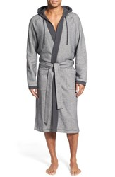 Men's Boss French Terry Cotton Blend Robe