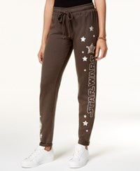 Star Wars Juniors' Embellished Graphic Sweatpants Heather Charcoal