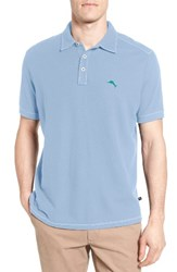 Tommy Bahama Men's Big And Tall Tropicool Spectator Pique Polo Polar Sky
