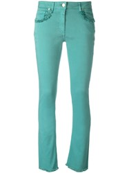 Etro Flared Jeans Green