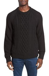 Jeremiah Men's Newport Cable Knit Crewneck Sweater
