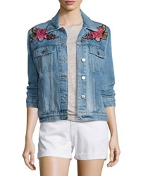 Frame Le Original Patch Jacket Rose Water Blue