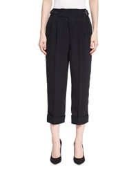 Tom Ford Cropped Heavy Twill Pants Black