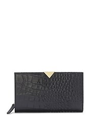Vince Camuto Zinia Multi Compartment Leather Wallet Black