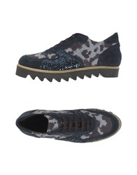 Le Stelle Lace Up Shoes Dark Blue