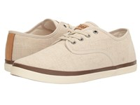 Gola Seeker Linen Oatmeal Men's Shoes Brown