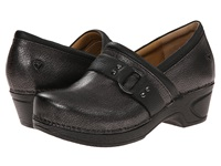 Nurse Mates Dakota Gunmetal Women's Clog Shoes Gray