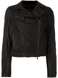 Drome Zip Up Jacket Black