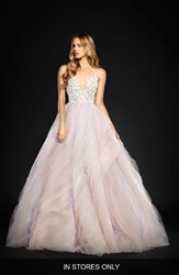Hayley Paige Women's Jem Rock Candy Embellished Tulle Ballgown