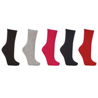 John Lewis Cotton Blend Ankle Socks Pack Of 5 Multi