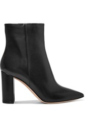 Gianvito Rossi Leather Ankle Boots Black