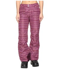 Marmot Whimsey Pants Magenta Chile Women's Casual Pants Red