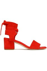Claudie Pierlot Mid Heel Tomato Red