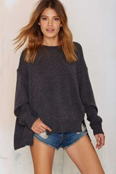Nasty Gal Hard Day's Night Knit Sweater