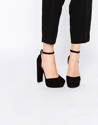 Asos Photobox Platform Shoes Black