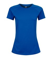 Adidas Speed T Shirt Female Blue