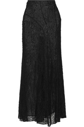 Isabel Marant Myles Embroidered Lace Maxi Skirt