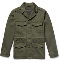 Marc Jacobs Cotton Field Jacket Army Green