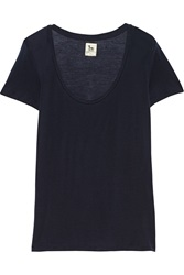 L'agence Tencel T Shirt Blue