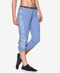 Under Armour Favorite Fleece Capri Pants Water