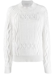 Givenchy 4G Sweater White