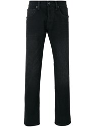 Edwin Straight Leg Jeans Black
