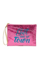 Flight 001 Get Out Of Town Bar Car Pouch Pink