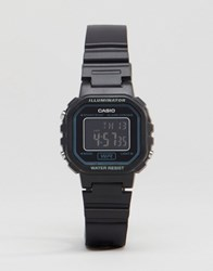 Casio Digital Watch In Black La20wh 1B Black