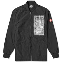 Cav Empt Unavoidable Patched Bomber Jacket Black