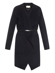 Vanessa Bruno Dungy Wool And Cashmere Blend Coat