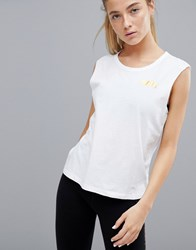 Only Play Gym Tank White