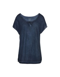 Napapijri T Shirts Dark Blue