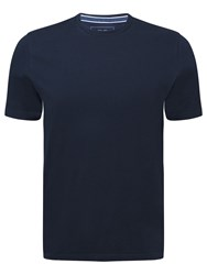 John Lewis Organic Cotton T Shirt Navy