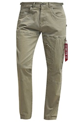 Alpha Industries Cargo Trousers Sand