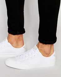 Pull And Bear Pullandbear Trainers With Chunky Sole In White White