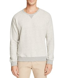 Uniform Heathered Color Block Sweatshirt Heather Grey