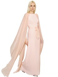 Ingie Evers Satin And Georgette Dress